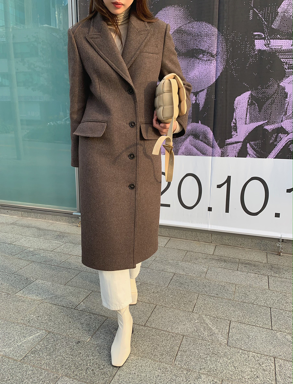 Two-way Wool Coat