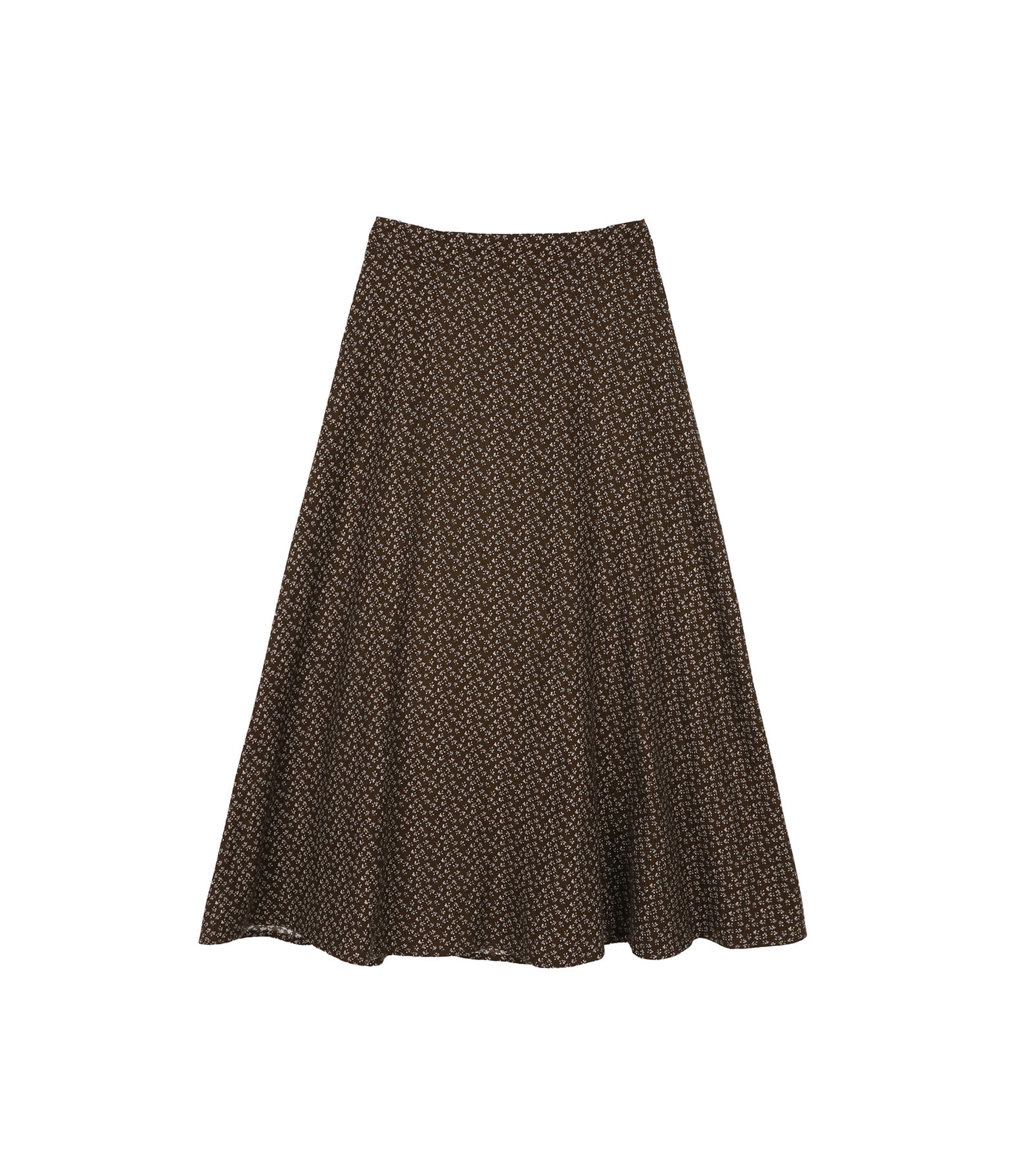 Florentine flower maxi skirt