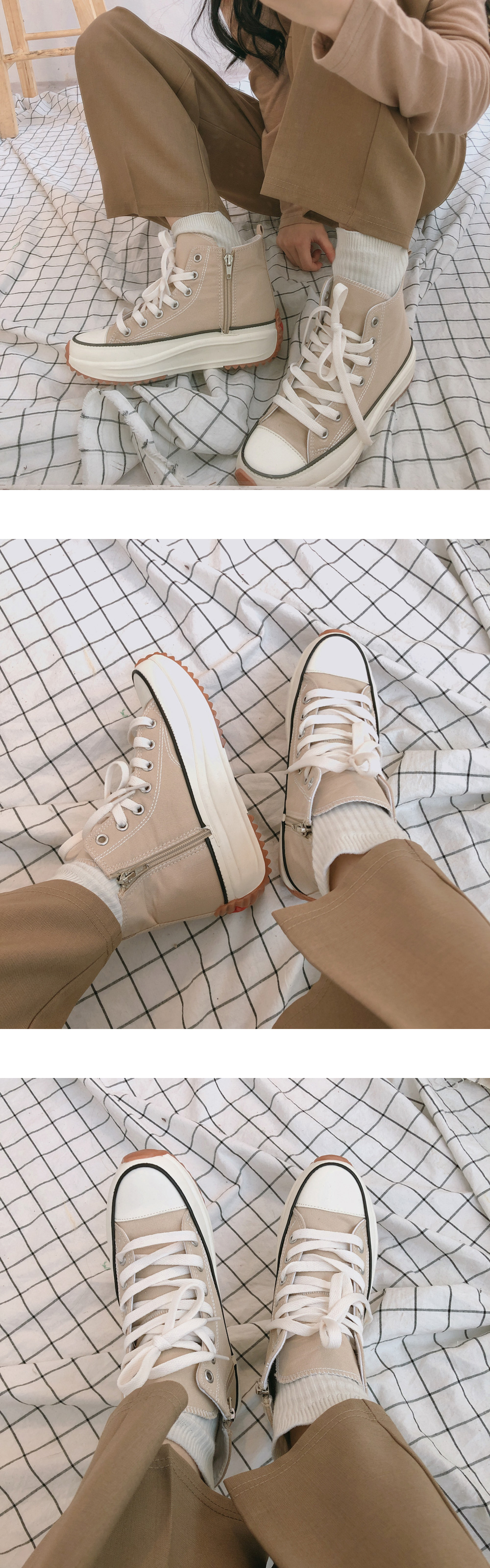Easy High Height Canvas Shoes