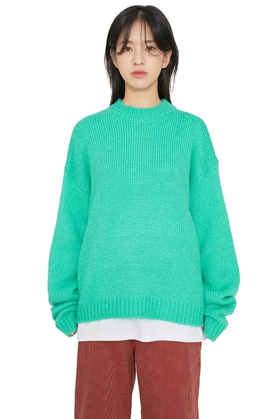Candy Alpaca Crew Neck Knit 針織衫