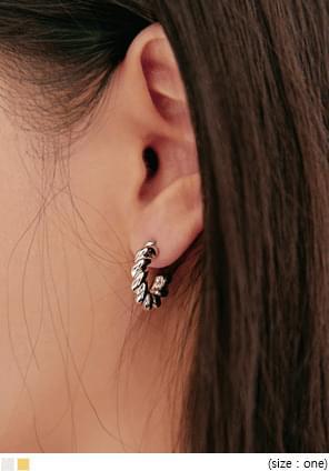 PAY 2 TYPE RING EARRING SET 耳環