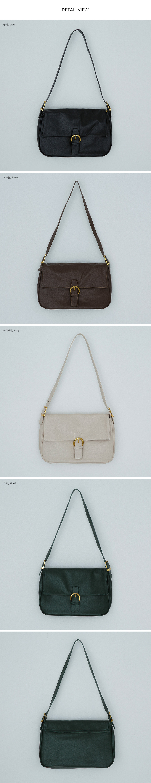 Franc retro buckle shoulder bag