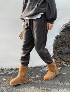 Bubble Fleece Banding Jogger Pants 長褲