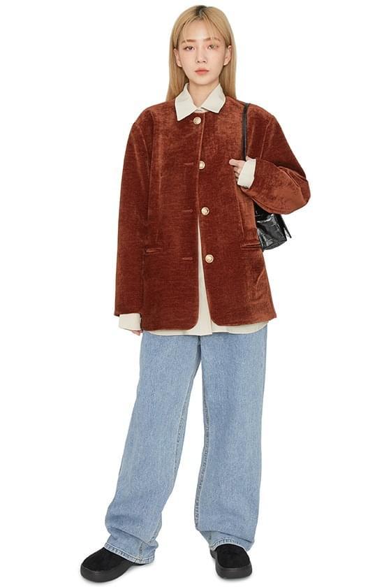 Salt banding wide jeans 牛仔褲