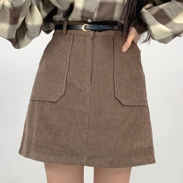 Corduroy skirt 裙子