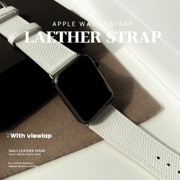 Apple Watch Cowhide Leather Strap Band 4color