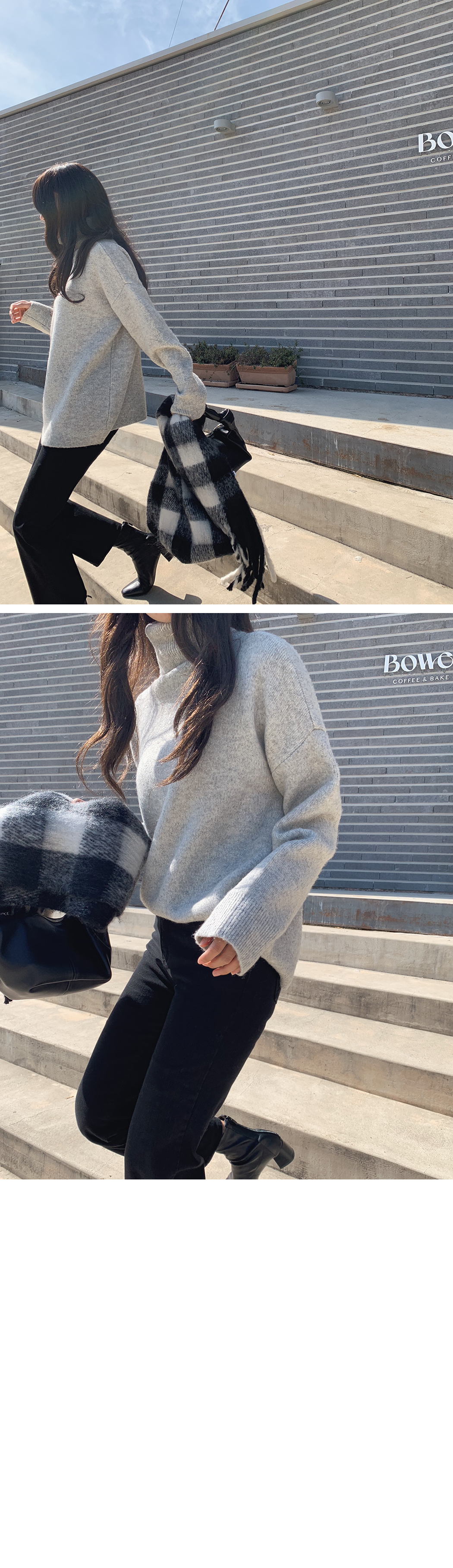 Nice loose fit turtle knit