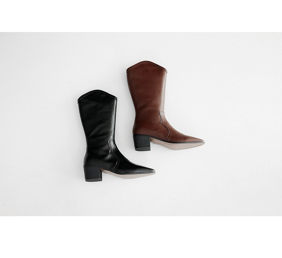 Rotetsu Western Long Boots 5cm