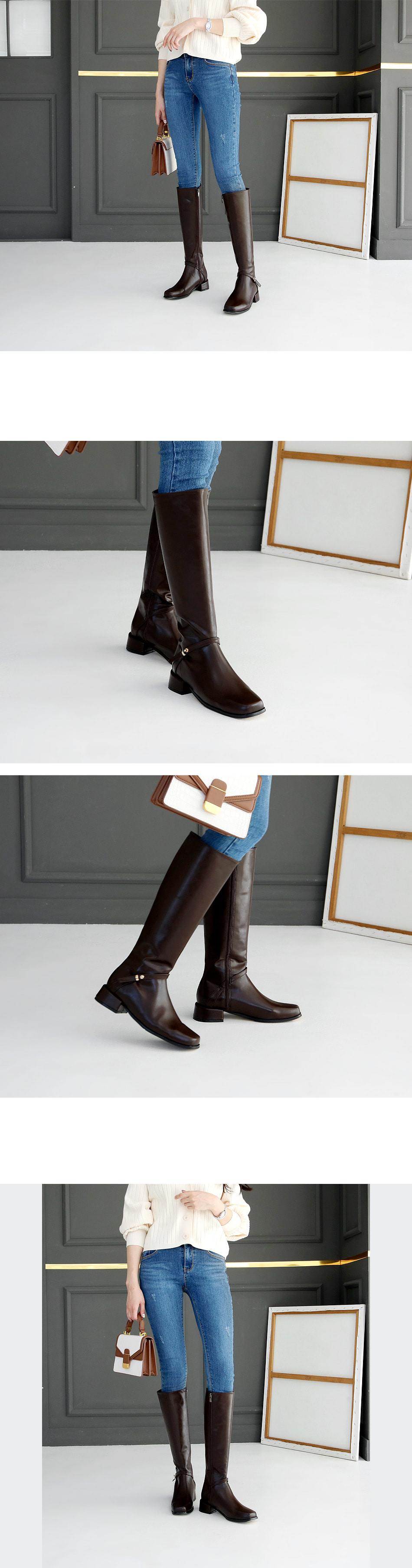 Pieden Long Boots 3cm
