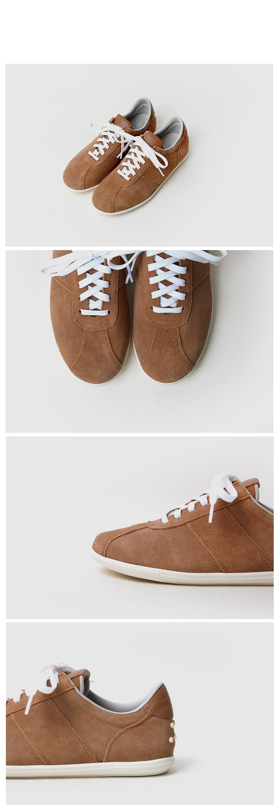 Epilen leather high-height sneakers 3cm