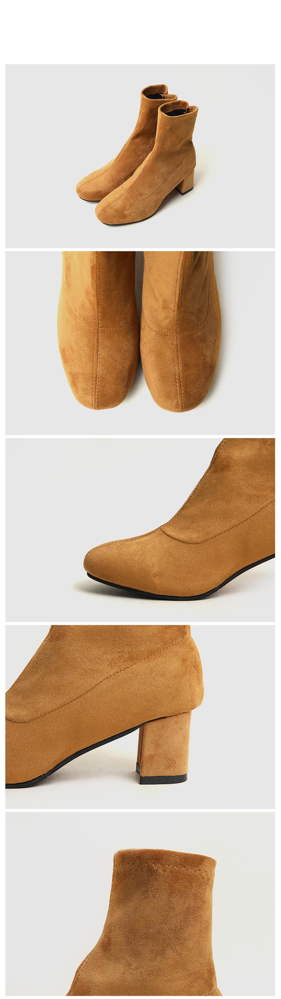 Ruelteen socks ankle boots 5cm