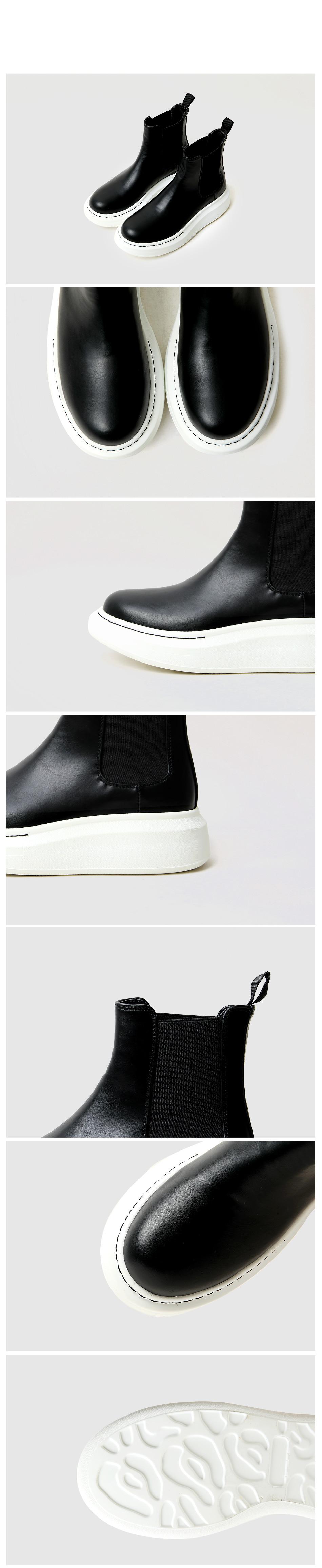 Tovik Full Heel Chelsea Boots 5cm