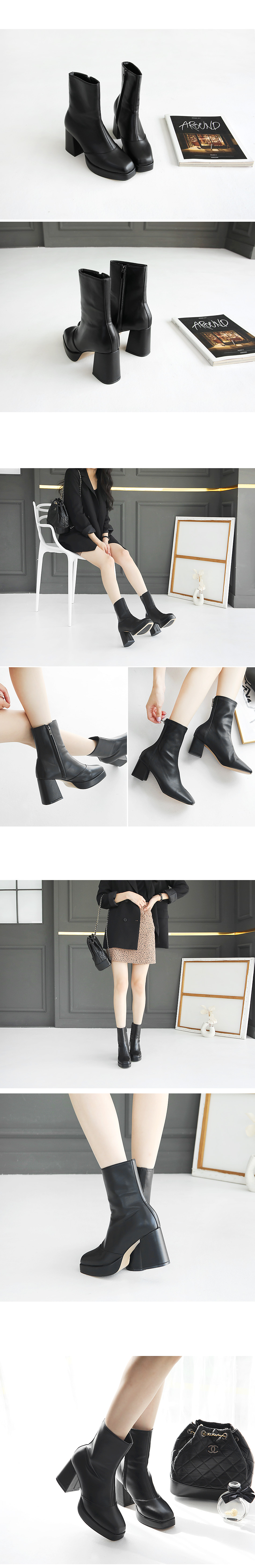 Tejia Heirloom Ankle Boots 8cm