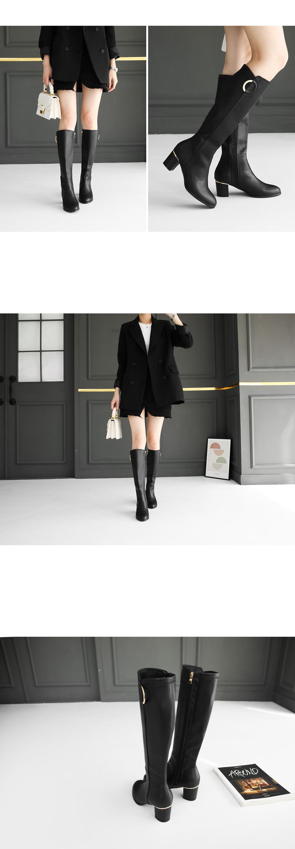 Shuek Middle & Long Boots 6cm