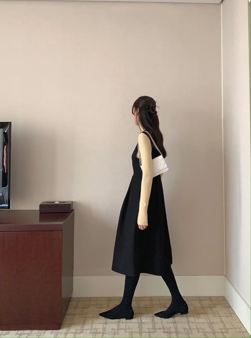 Marang Pleated Dress