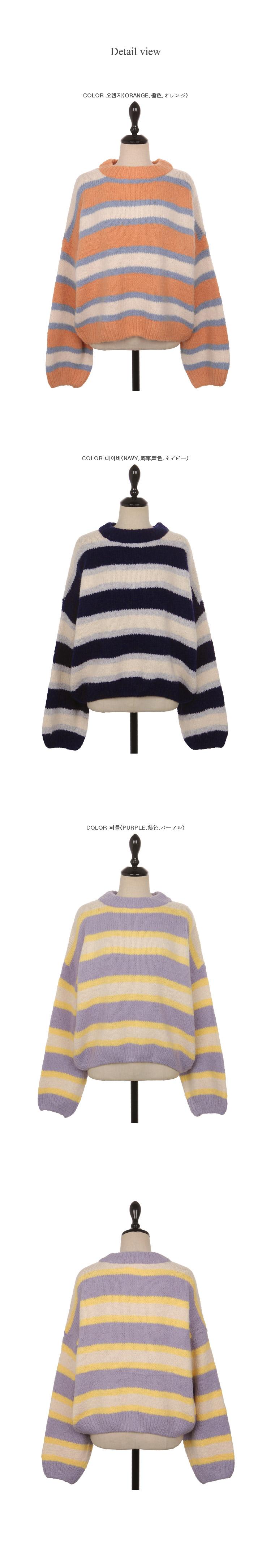 Pound wavy knit