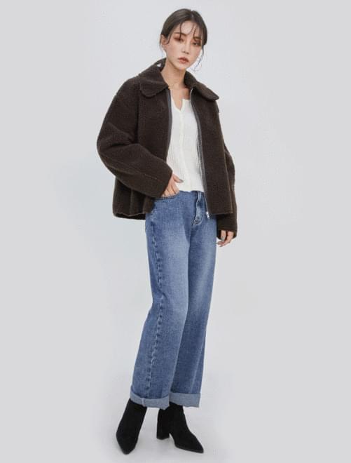 Sally Shearling jacket