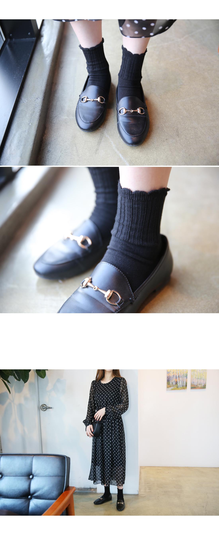 Sage lace socks