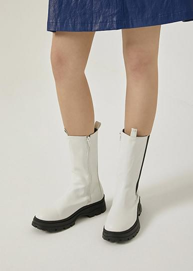 Tone-up ankle boots