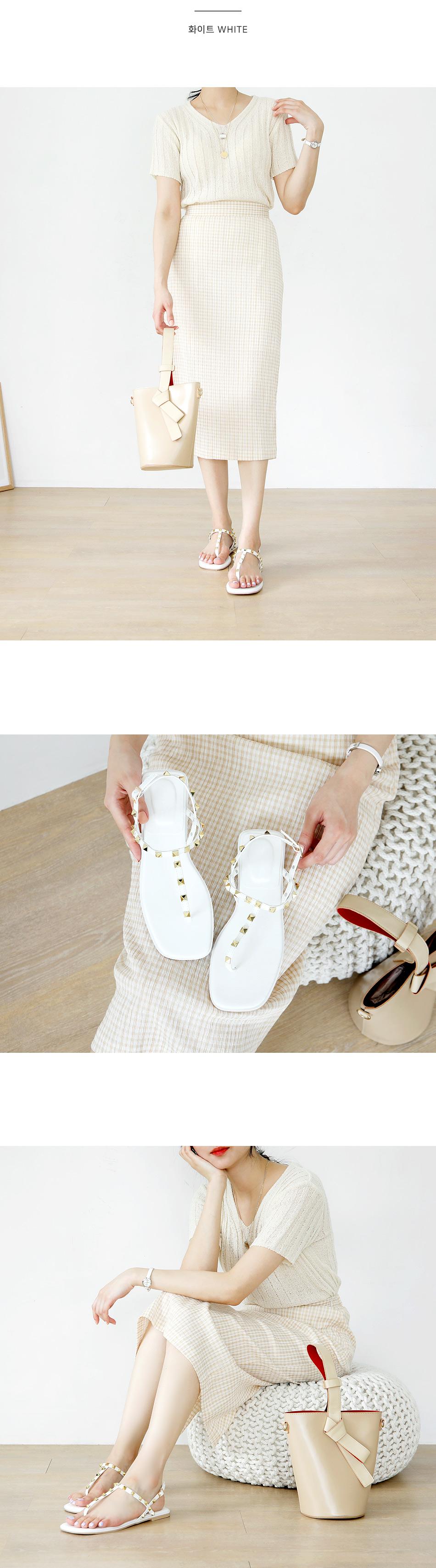 Kefir stud slingback sandals 1 cm