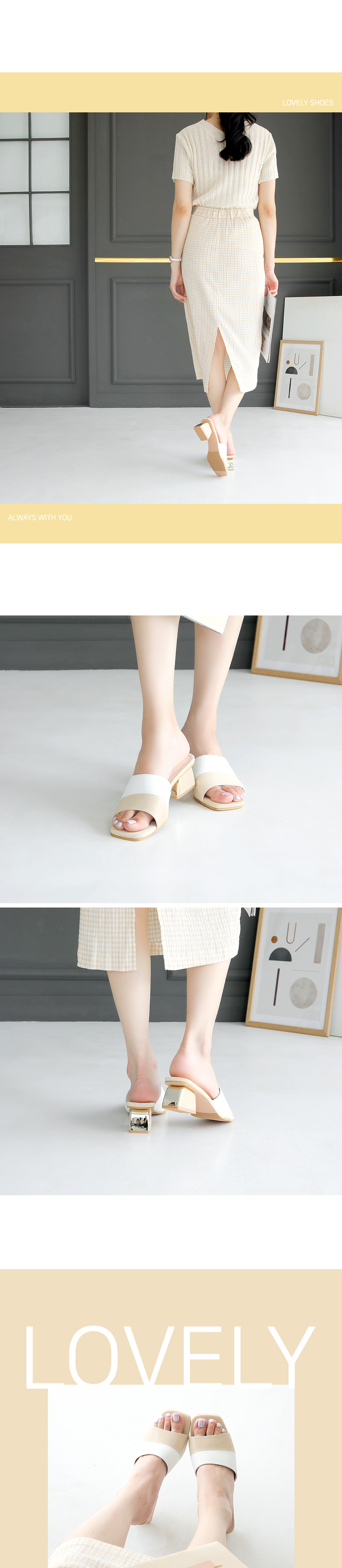 Lviv mule slippers 5cm
