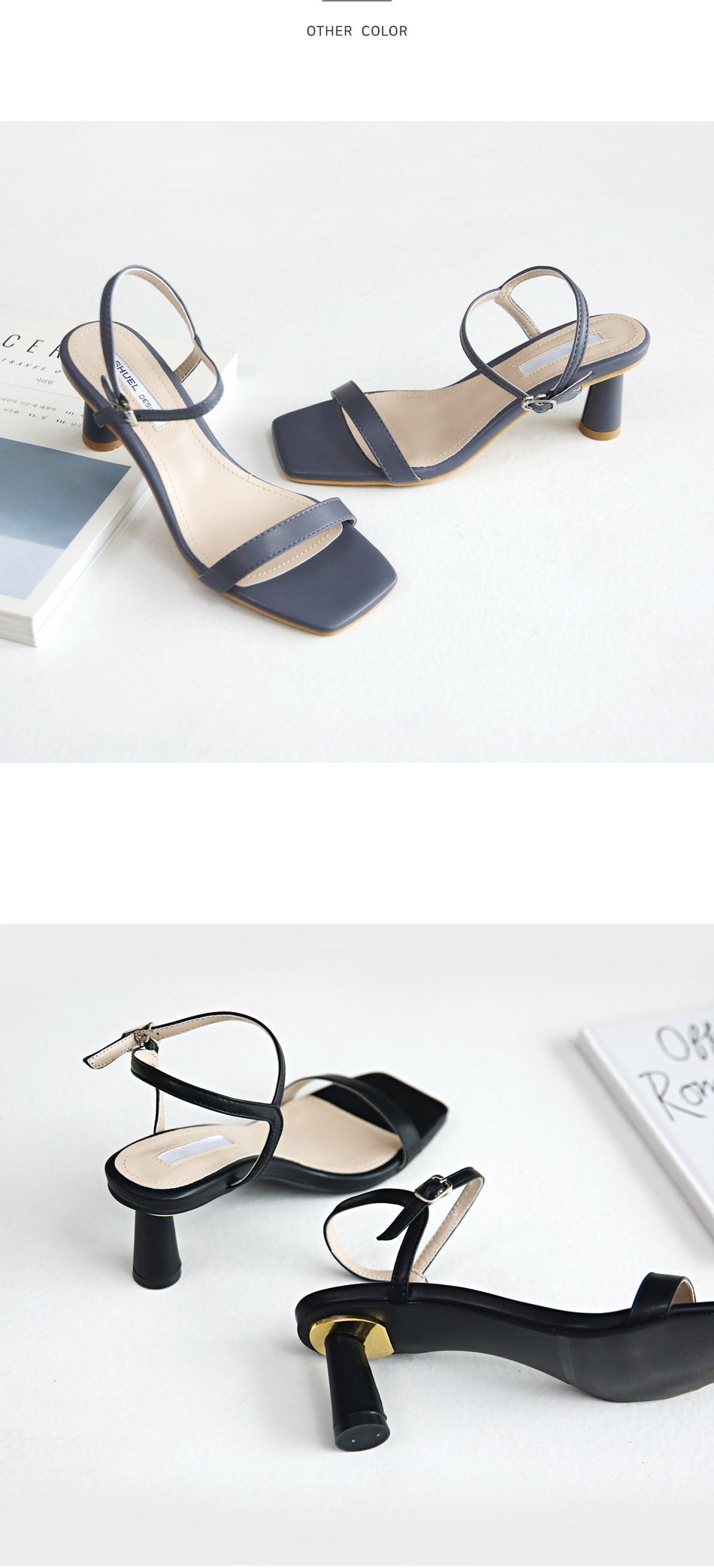 Celeb Slingback Sandals 6cm