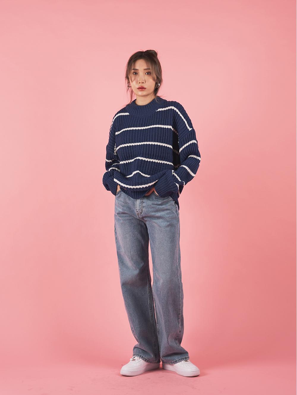 Old vintage denim trousers