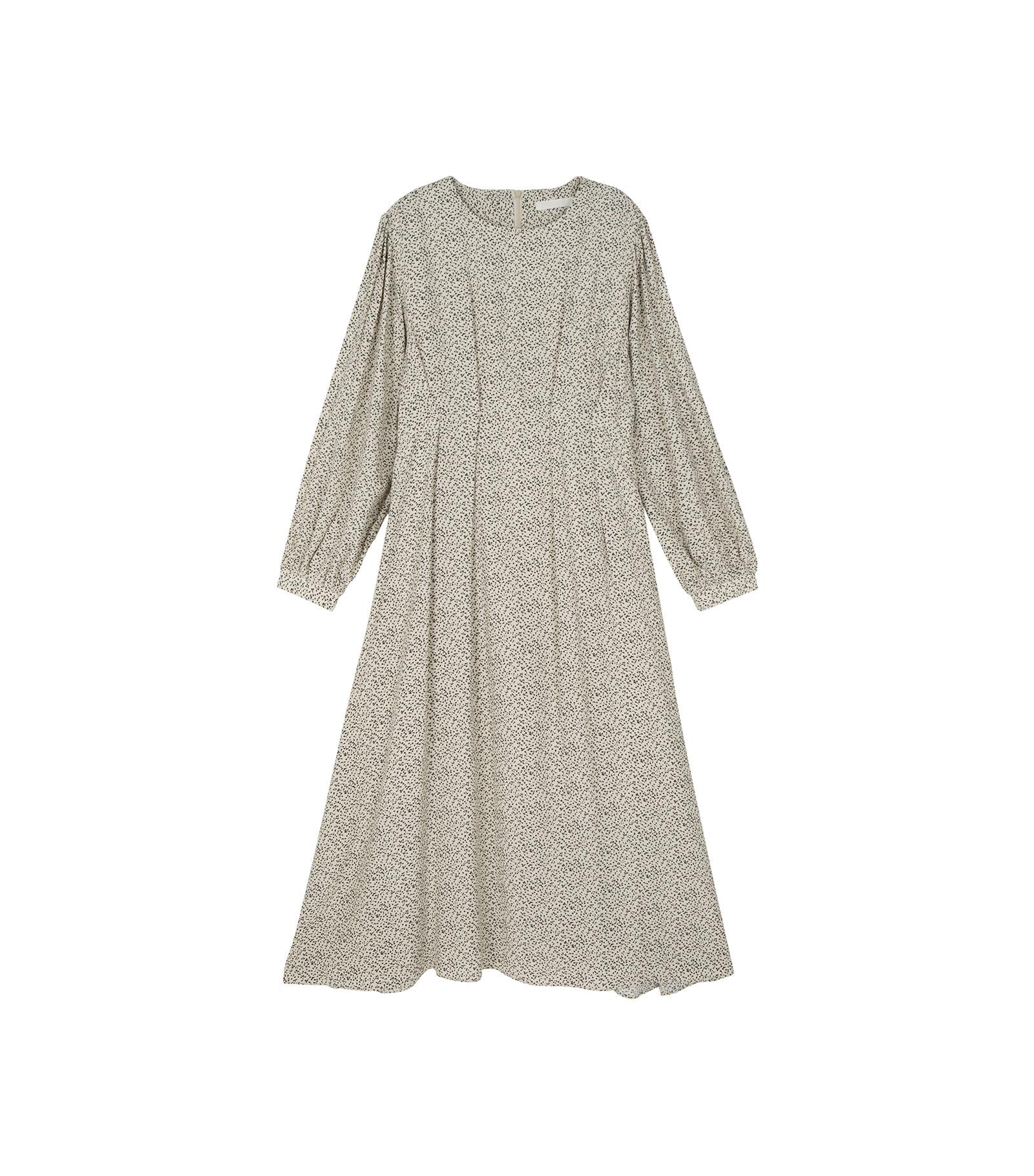 Cherry pattern midi dress