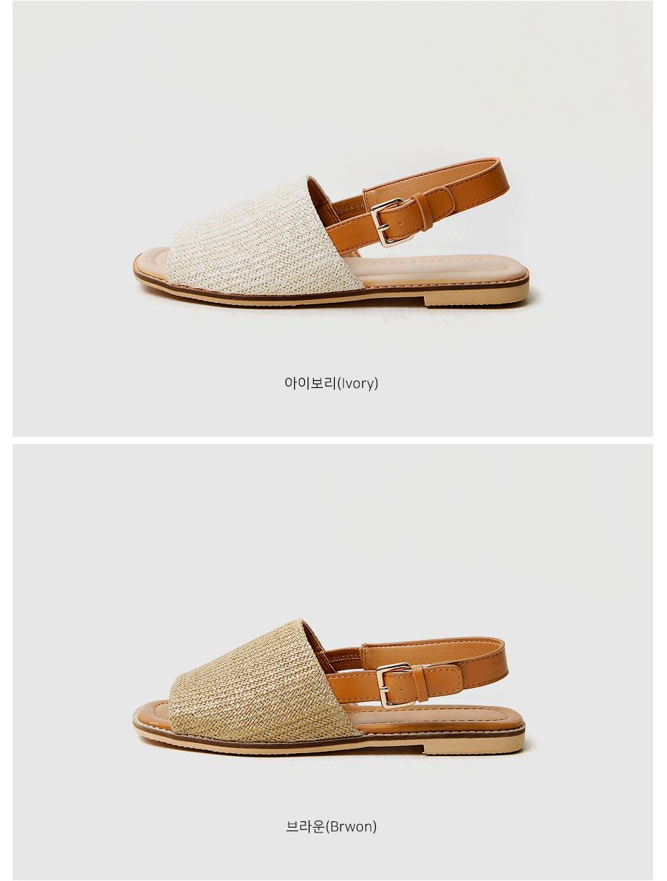 Lativ slingback sandals 1 cm