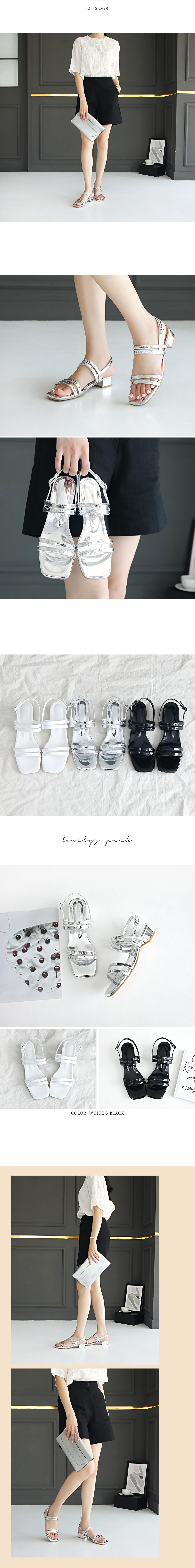 Tinero slingback sandals 3 cm