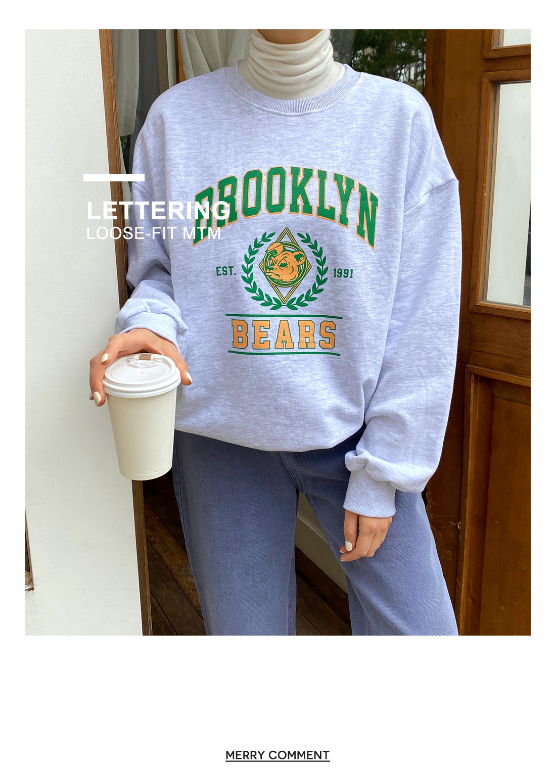 Brooklyn Bear Sweatshirt