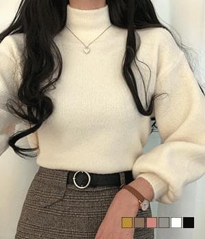 韓國空運 - Bellian avant-garde half-pole knit 針織衫