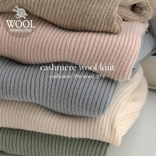 Weney Cash Wool Golji Half Neck Knit