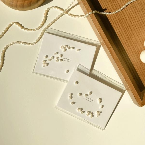 Pearl Beads DIY Ring Necklace Making Kit Set 項鍊