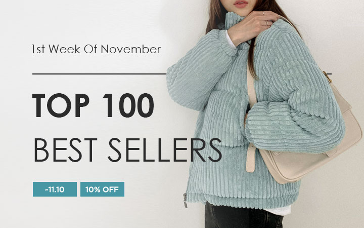 TOP 100 BEST SELLERS - 1st Week Of November