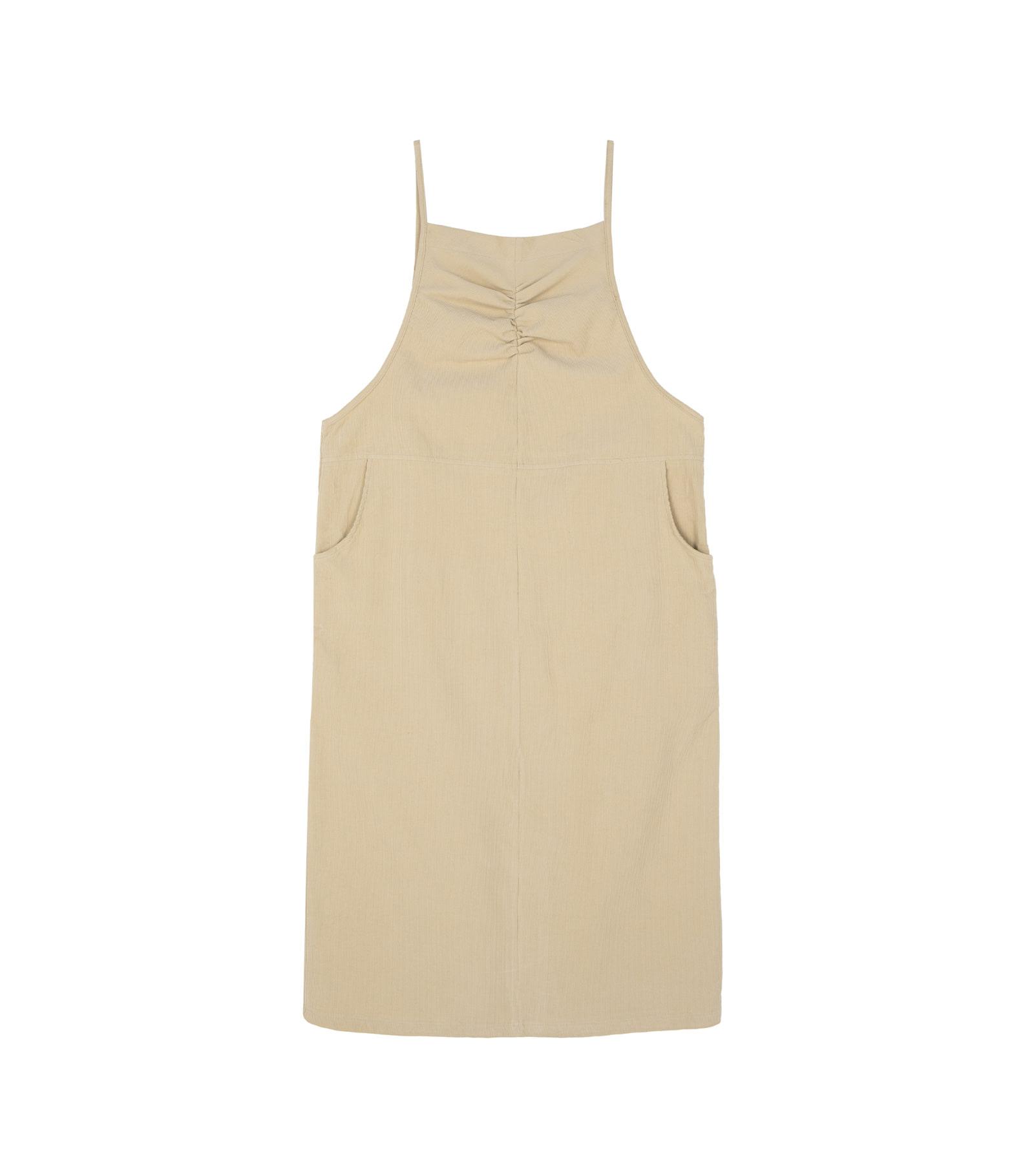 Sweet Bell Shirred Midi Dress