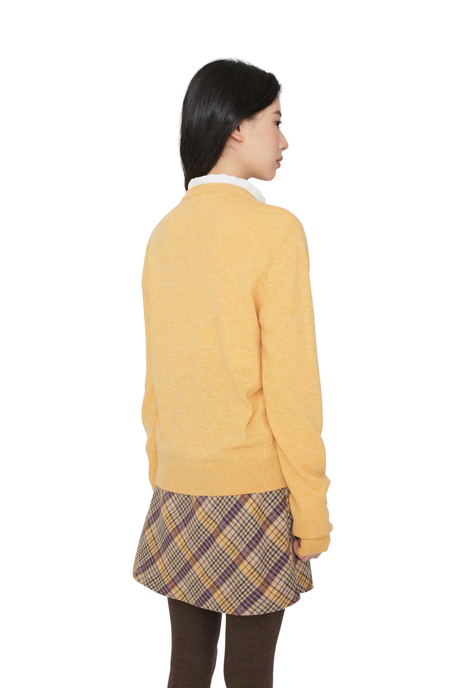 Palette Cashmere V-Neck Knit