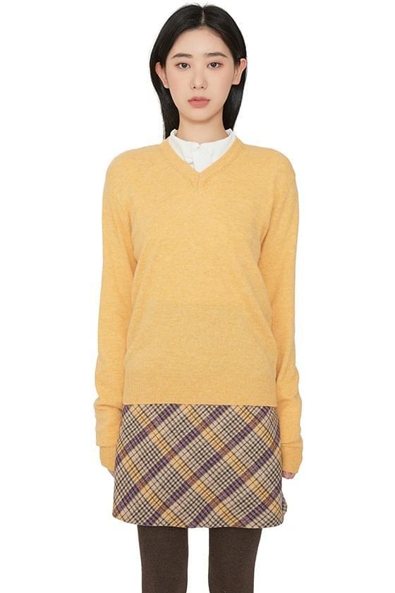 Palette Cashmere V-Neck Knit 針織衫