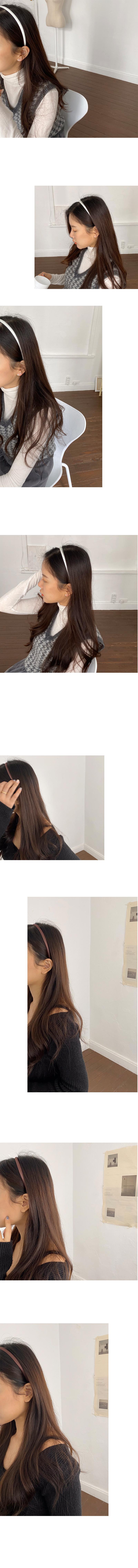 絲綢布髮箍