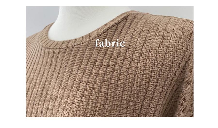 Toto Basic Ribbed Knitwear T-shirt