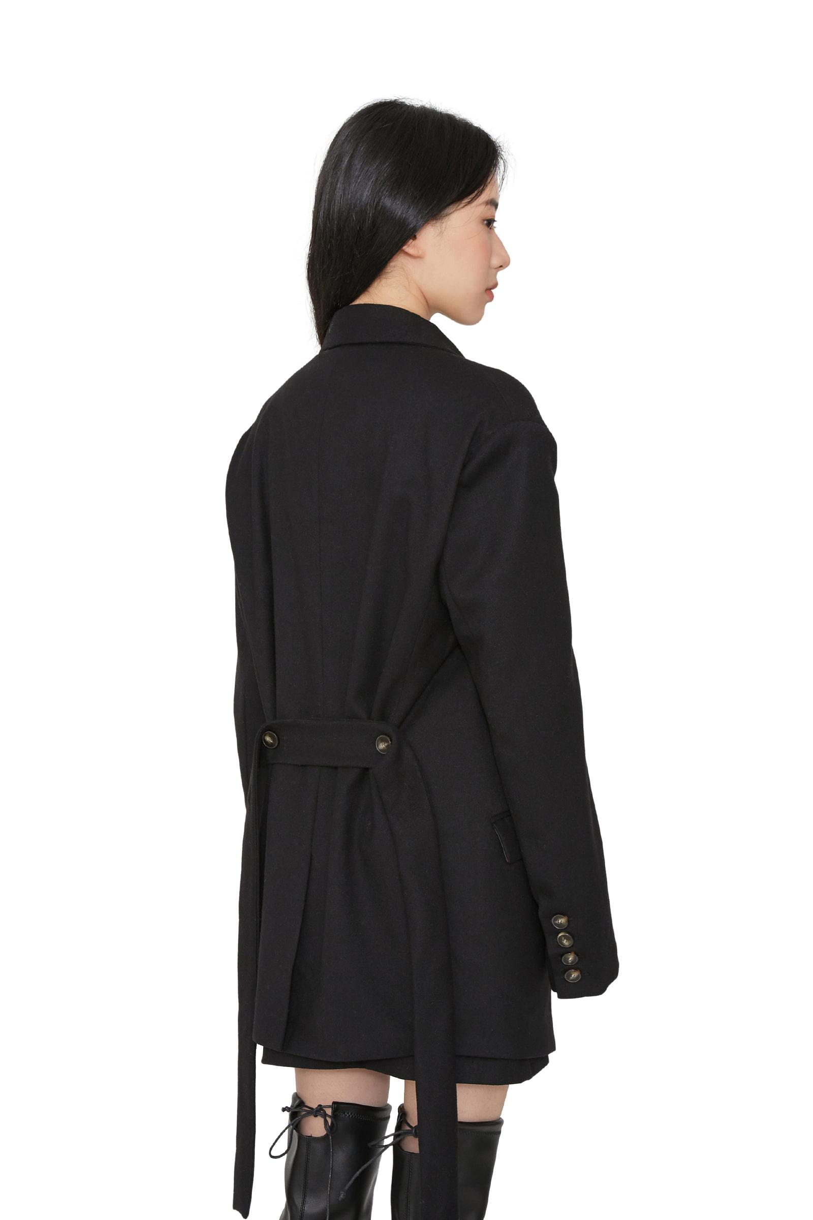Push-over button blazer