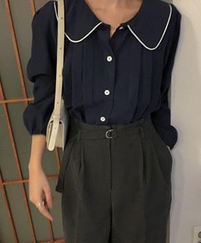 韓國空運 - Yoo C collar blouse 襯衫