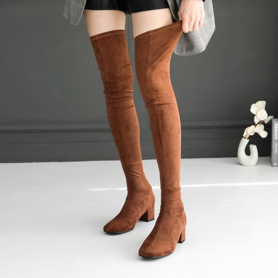 Socks Knee High Boots 3,5cm