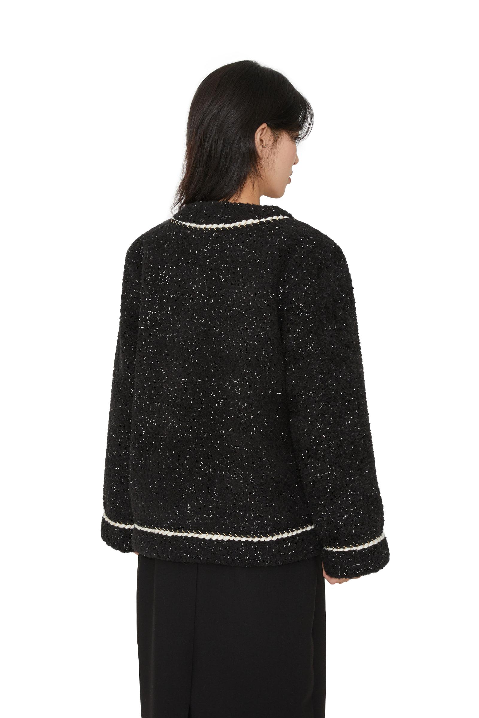 Cashew tweed jacket