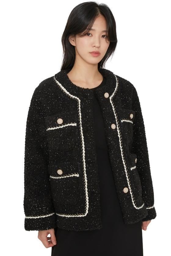 Cashew tweed jacket 夾克外套