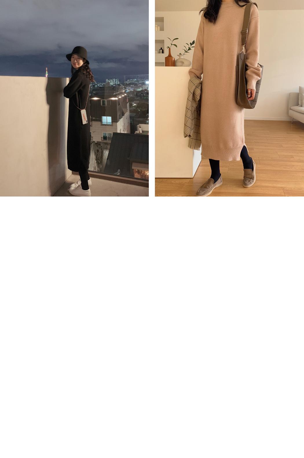 Nasround knit dress