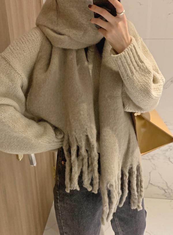 Lea plain scarf