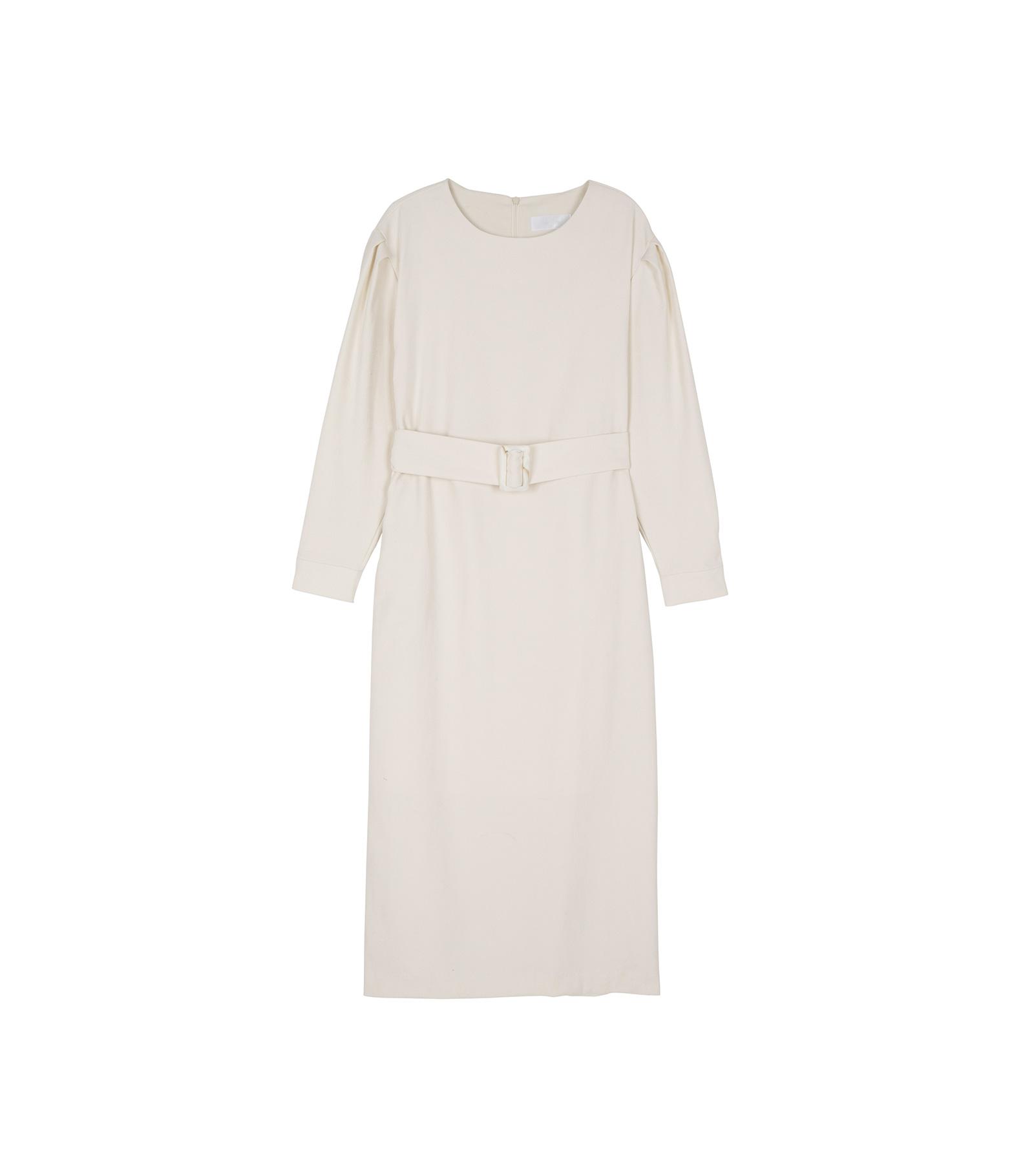 Lano belted midi dress