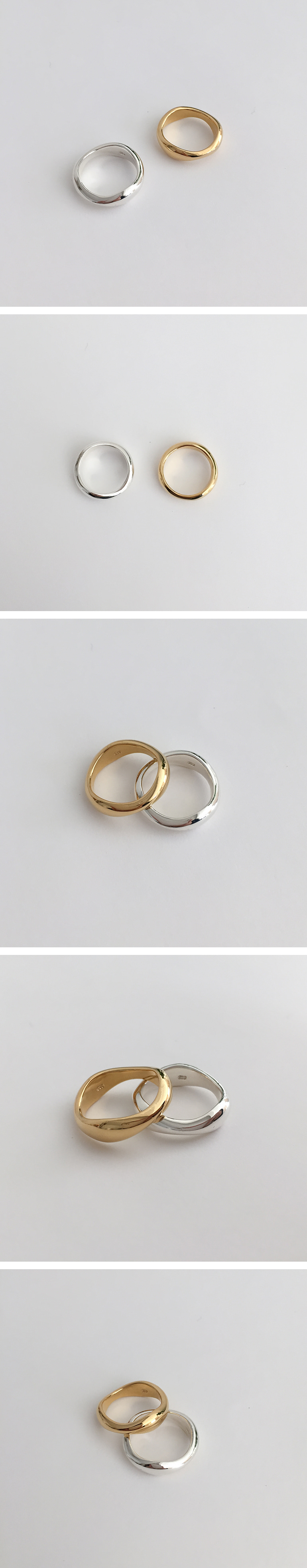 (silver925) modern ring