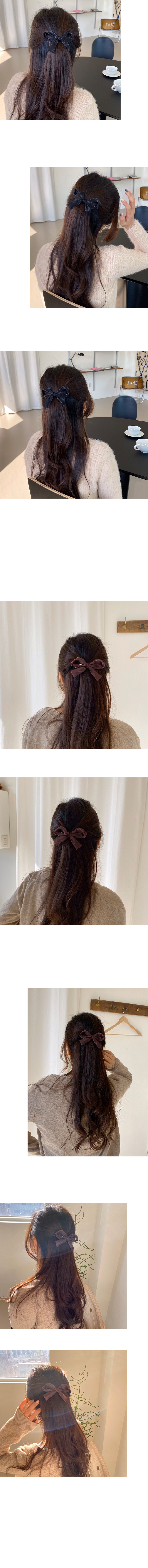 ribbon hair pin